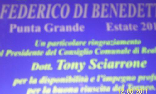 II° MEMORIAL FEDERICO DI BENEDETTO PUNTA GRANDE