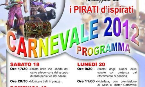 Carnevale 2012 a Realmonte.