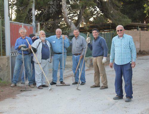 Comitato Scavuzzo e Amministrazione Comunale insieme per la pulizia del Territorio.