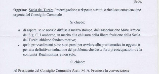 Il consigliere comunale Sciarrone Antonino, dopo le ultime e allarmanti notizie apprese e diffuse dai mass media dall'associazione Mareamico sulla imminente chiusura, a partire dal 1 Maggio 2017, della libera […]