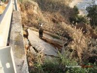Frana alla scala dei turchi, crolla la strada provinciale 2.jpg